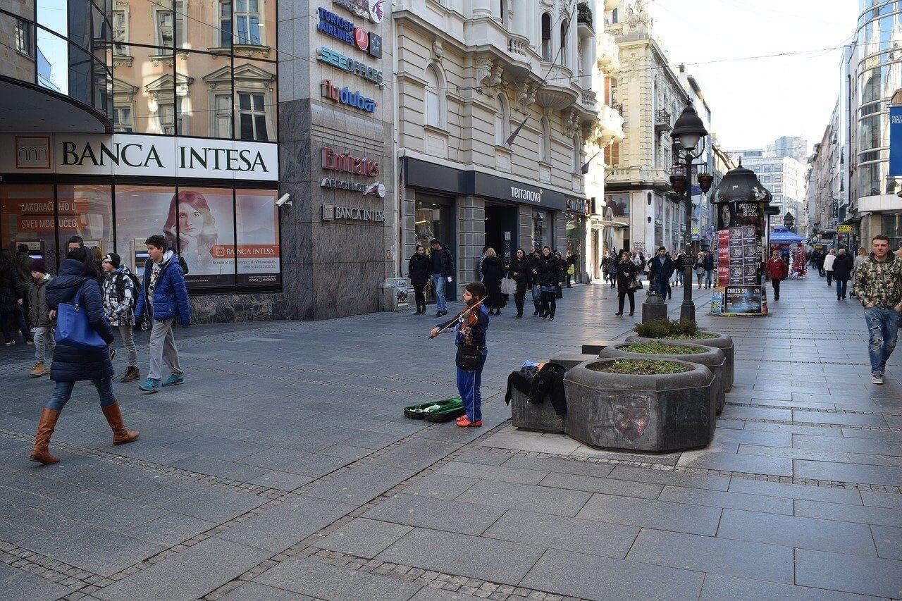 Dnez Mihajlova ulica u beogradu