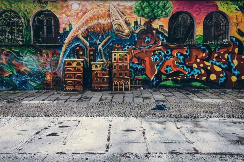 Grafiti umetnost