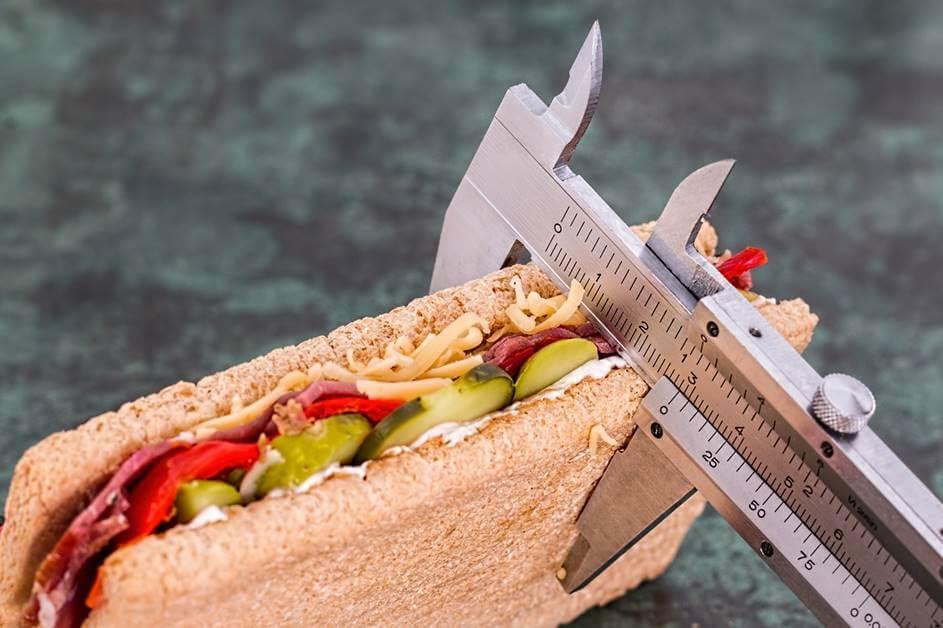Merenje dijetalnog sendviča